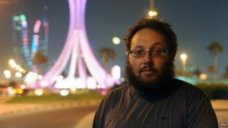 Steven Sotloff in Bahrain in 26 October 2010