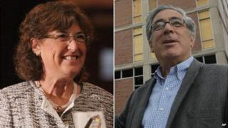 Larry and Jane Glazer (file images|)