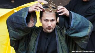 Richard III in Mandarin at the Globe Theatre