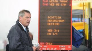 bookmaker takes bets on Scotland