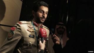 Prince of Bahrain, Sheikh Nasser bin Hamad al-Khalifa
