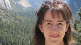 Rachel Kuller in the mountains