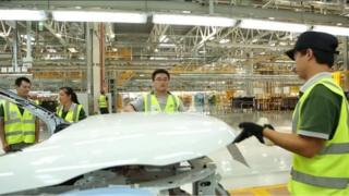Jaguar Land Rover factory in China