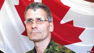 Patrice Vincent, in a Canadian handout photo
