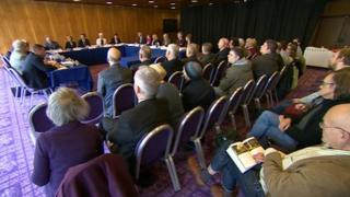 North East Combined Authority meeting