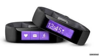 Microsoft's new fitness band