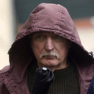 Ivor Bell leaves Belfast Magistrates Court where he appeared on charges connected with the abduction and murder of Jean McConville