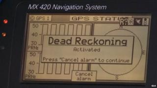 GPS onboard a ship