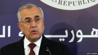 Ex-president Michel Suleiman