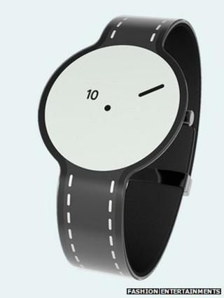 E-paper watch