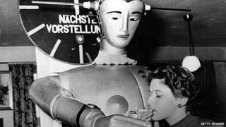 German department store robot