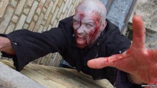 Zombie in Cambridge