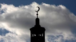 Minaret of East London Mosque