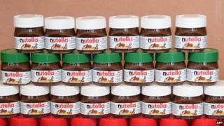 Jars of Nutella (May 2014)