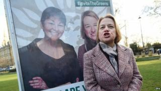 Green Party leader Natalie Bennett