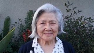 Photograph of Blanca Katsura in 2014