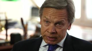 Russian MP Alexei Pushkov - file pic