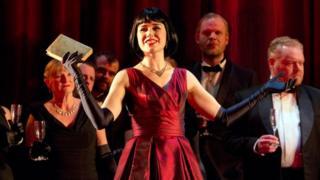 A scene from ENO's production of La Traviata