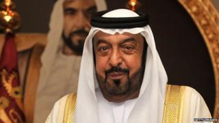 UAE President Sheikh Khalifa bin Zayed