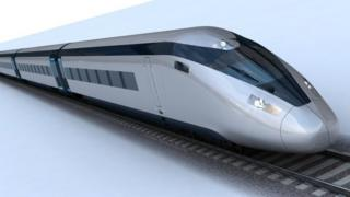 Potential HS2 train design