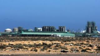 Al Ghani oil field near Waddan city, 23 March 2015