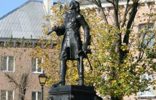 A statue of Kant in Kaliningrad (file pic)