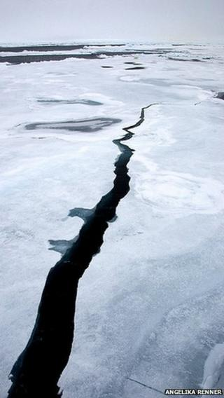 The melt season is underway in the Arctic