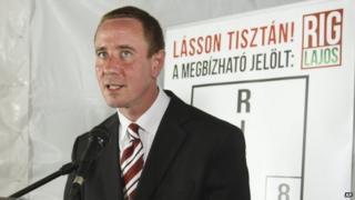 New Jobbik MP Lajos Rig