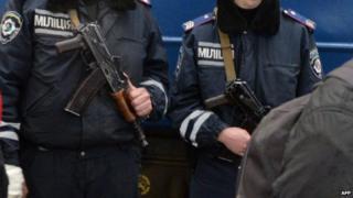 Police in Kiev