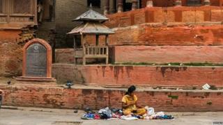 Basantapor before the quake