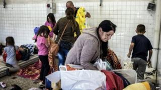 Eastern European migrants in France