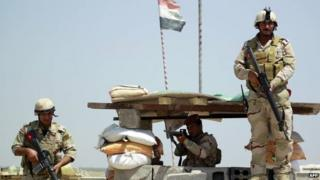 Iraqi troops near Baghdad. Photo: 24 May 2015