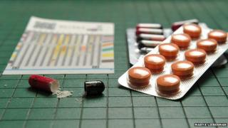 Testing drugs using the PAD, or paper analytical device