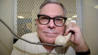 Texas death row inmate Lester Bower is photographed on 20 May.