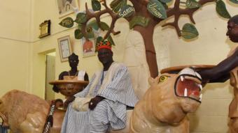 Mogho Naba, king of the Mossi ethnic group - 22 September 2015