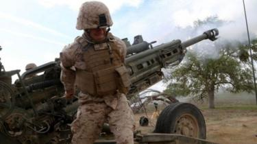 توپخانه نیروهای آمریکایی