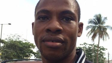 Orji Micah, builder, Lagos