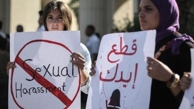 Women in Cairo protest against sexual harassment(file photo)