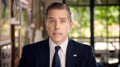 Hunter Biden addressing the 2020 DNC