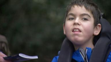 Jacob is among the many students with a disability not back in school full-time in the UK.