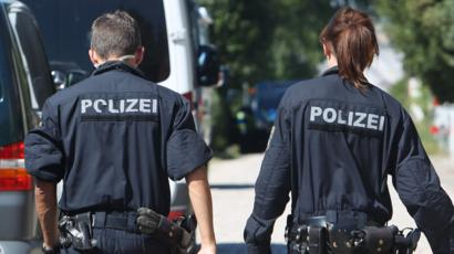 German police officers (file image)