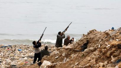 Beirut bird shoot