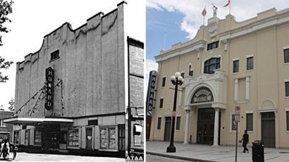 Howard theatre before and after