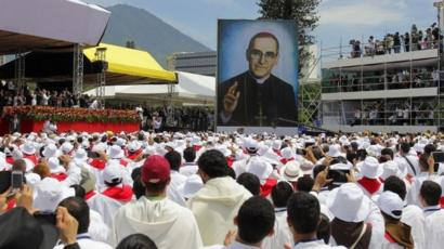 Huge crowd attends Romero's beatification ceremony