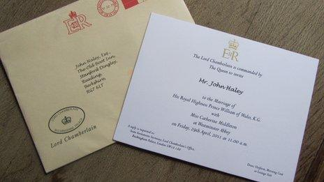 Kate Middleton Locals Excited At Royal Wedding Invite Bbc Newsbeat