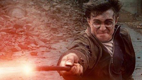 Daniel Radcliffe in Harry Potter and the Deathly Hallows - Part 2