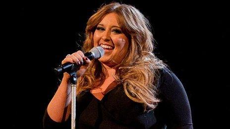 The Voice winner Leanne Mitchell
