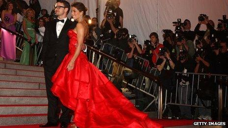 Jessica Biel and Justin Timberlake on the red carpet