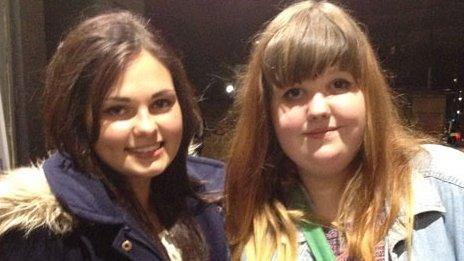 Tamara and Chloe