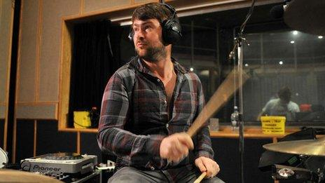 Jack Savidge from Friendly Fires